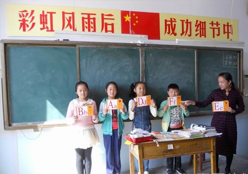 Teaching aids support